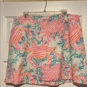 Lilly Pulitzer ladies size 14 skirt